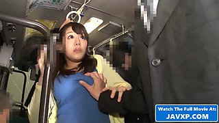 Japanese Shy Teen Fucked On The Bus