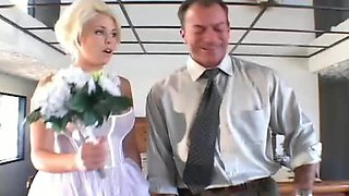 His naughty bride wants anal sex
