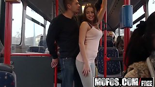 Mofos - Mofos B Sides - Bonnie - Public Sex City Bus Footage