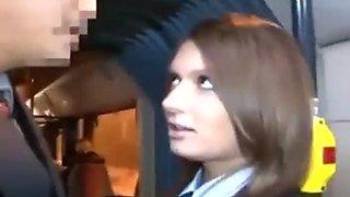 Repost redhead in bus
