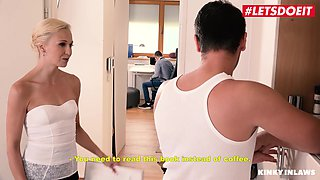 LETSDOEIT - Dirty Step Mom Abused By Her Sons Big Dick The Kitchen