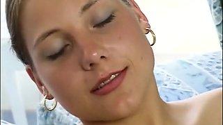 Horny pornstar Nicole Taylor in incredible blowjob, big tits xxx clip