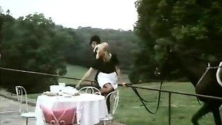 Amazing vintage scene with Lidie Ferdics and Guy Berardant