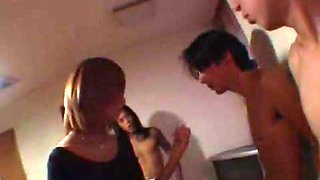 Amazing JAV censored sex clip with hottest japanese chicks