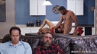 beautiful busty latina cheats on her husband