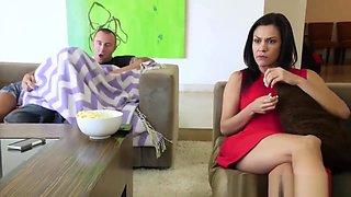 Hot Step-Sis Maya Bijou Slammed By Big Brother During Movie Get-together