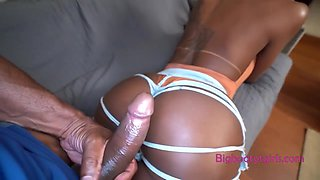 Drilling Deep In That Amazing Ass Of Jennifer With A Big Black Dick