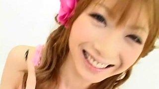 Exotic Japanese model Rika Sakurai in Best Facial, BDSM JAV clip