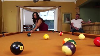Fat Cunt Fucked on Pool Table