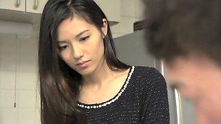 Hottest Japanese slut in Incredible Cuckold, Fetish JAV video