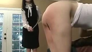 Caned To Climax And Disobedient Brat xLx