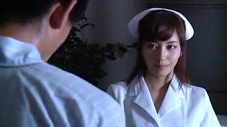 Exotic Japanese chick Miyuki Yokoyama in Incredible Doggy Style, Stockings JAV scene