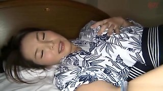 Naughty Asian housewife Nagasawa Azusa gets hardcore