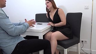 Very Sexy French Daughter Fucked By A Client