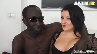 Amateur Italian Milf Rides A Bbc At Her Porn Audition