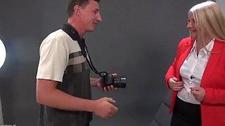 Chubby German Mature Rosella Fucks Cameraman