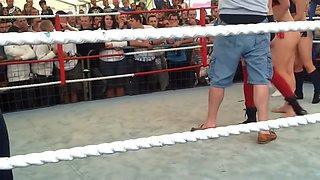 Bikini Wrestling 2 on 2