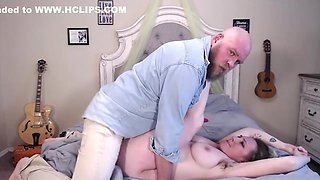 Rough Pregnant Doggy From Daddy Lebowskis Huge Cock