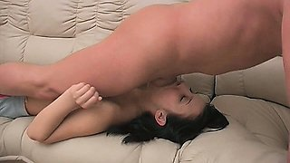 Jessica Gets Rough Gagging and Dick-Slapping