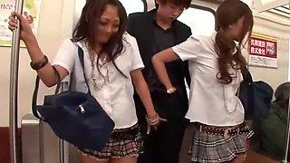 Exotic Japanese slut Rin Aikawa, Aoi Miyama in Hottest Public, Group Sex JAV scene