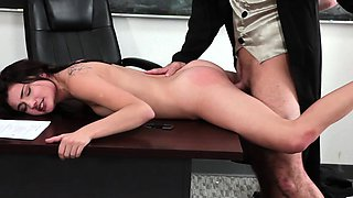 InnocentHigh - School Girl Pressured To Fuck Teacher
