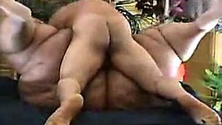 lil guy fucks the big girl with a fat ass