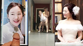 Korean Slut Yuna Wedding PussyFucking
