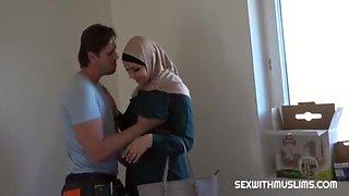 Arab In A Hijab Has Sex 4