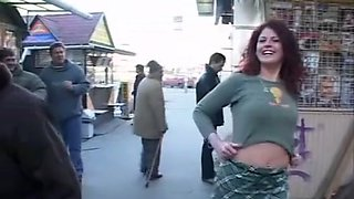 Exotic flashing clip with public scenes 1