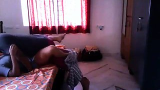 Amateur Latina wife nailed deep by her lover on hidden cam