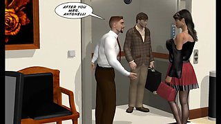3D Comic: Sleep Walker