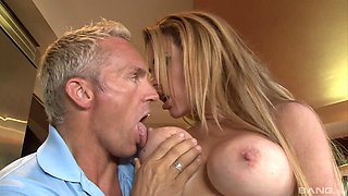 Sexy Corinna Blake likes a stiff dick more than anything else