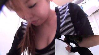 Japanese hos piss on cam