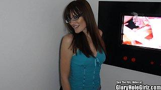 Perky Tits Valley Girl Glory Hole Cock Sucker