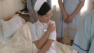 Compilation of porn movies with Japanese nurse Iori Kogawa
