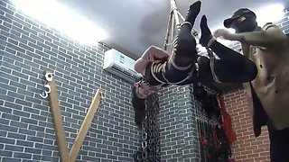 Incredible porn video Hogtied crazy just for you