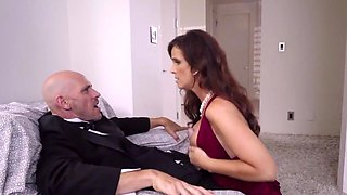 Busty mature caught fucking with her son in law