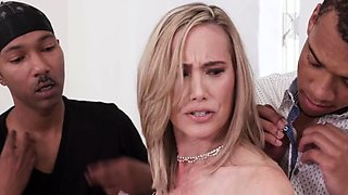 Lilly James Enjoys DP In Front of Her Cuckold Hubby