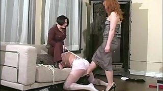 Best pornstars Mistess Selene and Mistress Gemini in amazing threesomes, dildos/toys porn clip