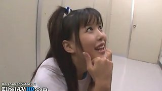 Jav 18yo schoolgirl dealing with small dicks friends
