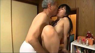 grandpa and the schoolgirl