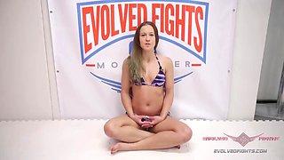 Cheyenne jewel owns billy boston on the wrestling mat