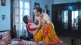 Wife homemade sex very hot red saree full romance fuck mastram web series
