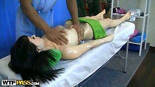 Doctor bangs nude massage cutie