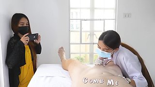 My Doctor Therapist Oral Stimulation In Front Of My Wife