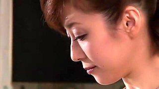Amazing Japanese girl Yuko Shiraki, Yuuko Shiraki in Hottest Wife JAV scene