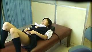 Schoolgirl used by School doctor (censored)