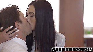 Babysitter Marley Brinx Hot Fuck After Wife Left