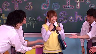 Amazing Japanese chick Yu Namiki in Crazy JAV censored Fetish, Hairy clip