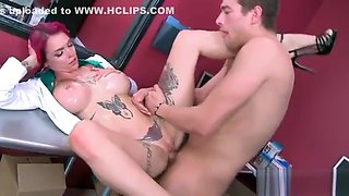 (Anna Bell Peaks) Gorgeous Hot Patient Get Banged Hard From Doctor movie-02